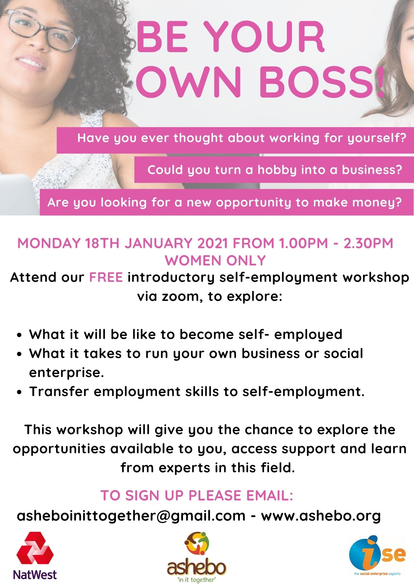 Self Employment Event